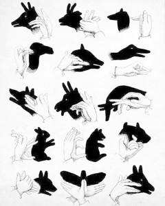 сенки с ръце