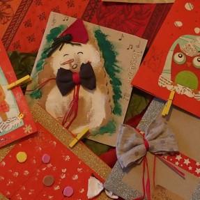 Коледни картички от Местенцето