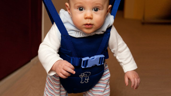 На 5 месеца: Бебешко бънджи