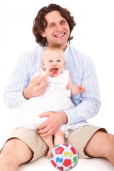 На 4 месеца: Футбол с мама и тате