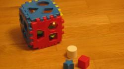 На 1 година: Геометрична кутия