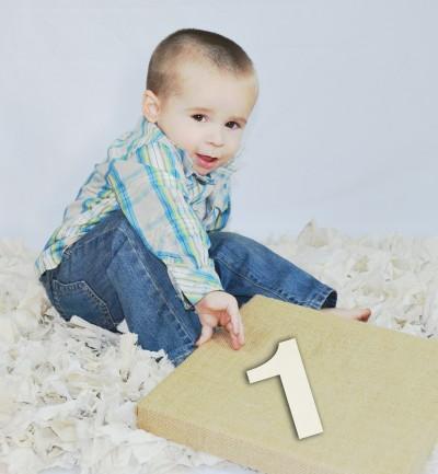 На 1 година: На колко годинки си?