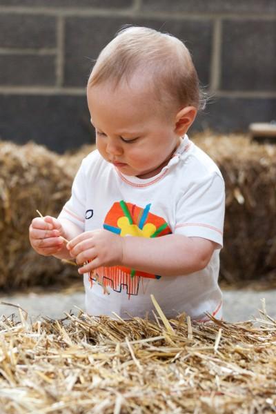 На 1 година: Части на тялото