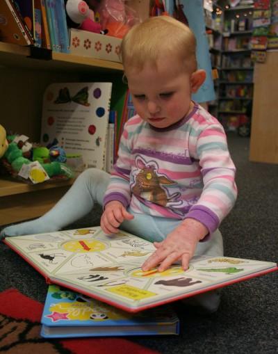 На 1 година: Време за четене