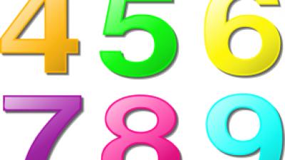 На 4 години: Броене с копчета