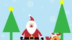 Коледни картинки за оцветяване