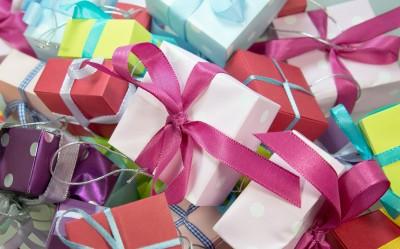Разопаковане на подаръци
