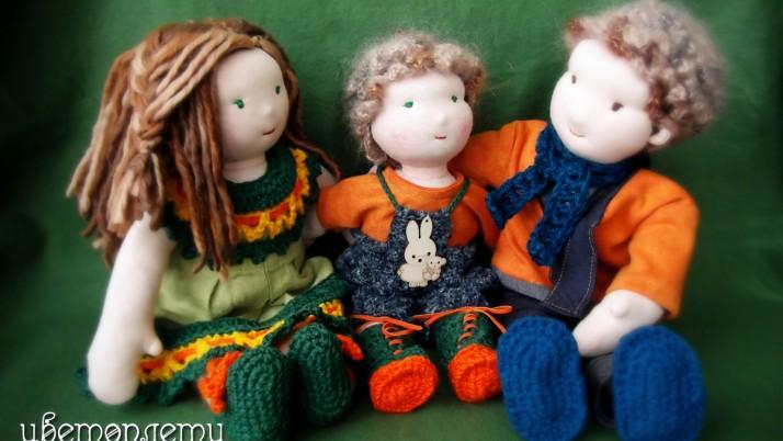 Магията на Валдорфските кукли
