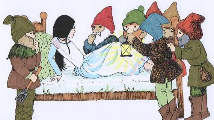 Как да играем с тази приказка: Снежанка и седемте джуджета