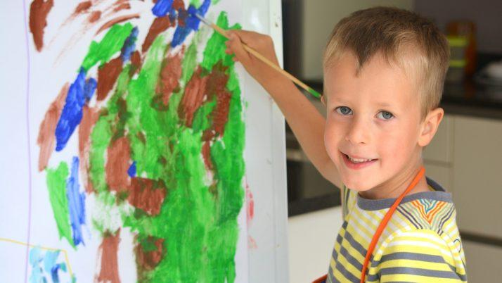 Детската рисунка между 2 и 6 години