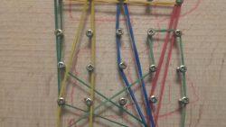 На 4 години: Домашна геометрична дъска