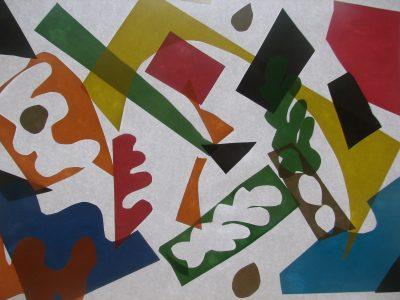 На 5 години: В света на колажа на Анри Матис