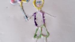 На 5 години: Рисуване със сол и лепило