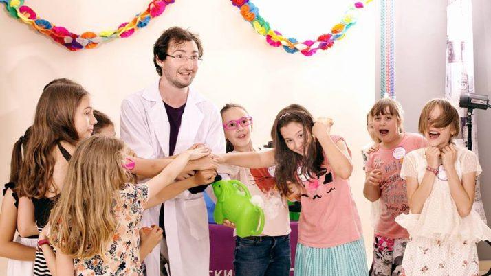 Детският научен клас на Явор Денчев